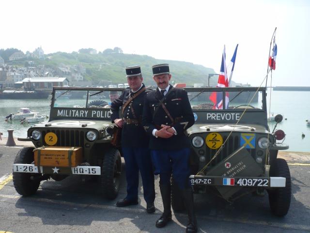 Commémoration libération Port-En-Bessin  09em3f