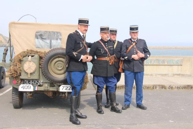 Commémoration libération Port-En-Bessin  09gael