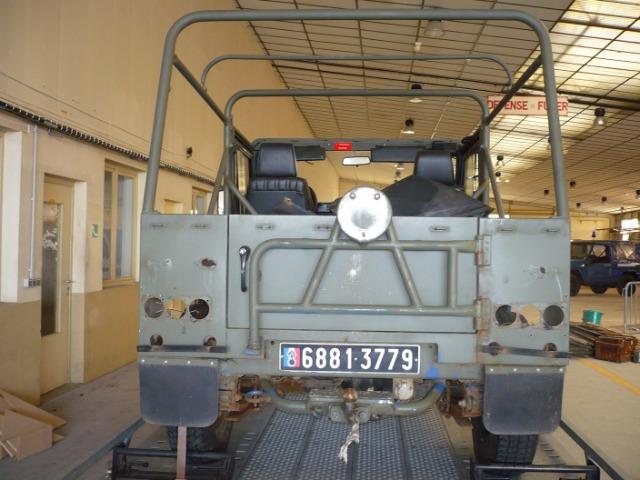 R4, R6 Sinpar et véhicules tout terrain de brigade.  29dv43