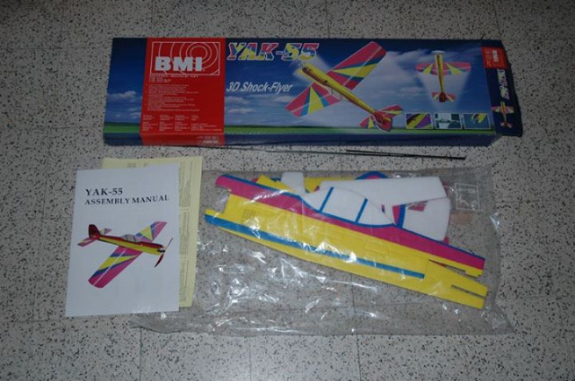 BMI YAK-55 24lhst