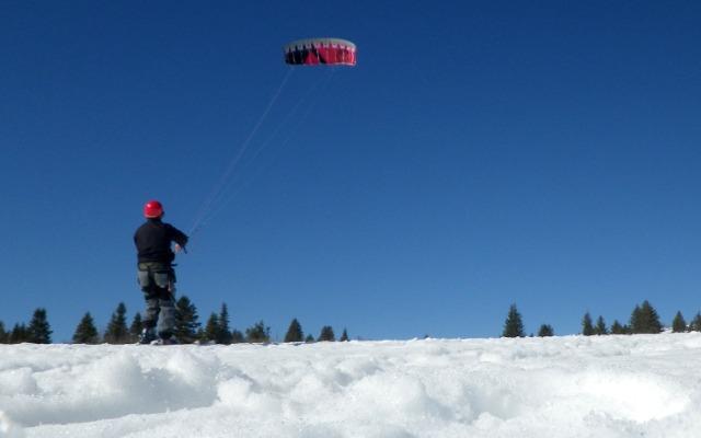 Snowkite, Autrans  06el6t