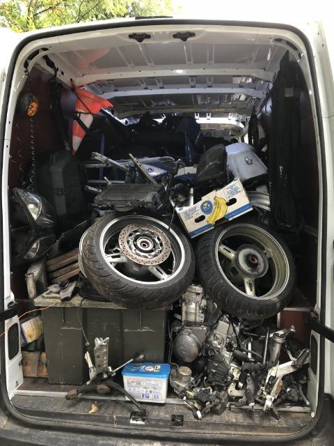 Vends 1200 XTZ 2012 accidentée+divers pièces 29cl14