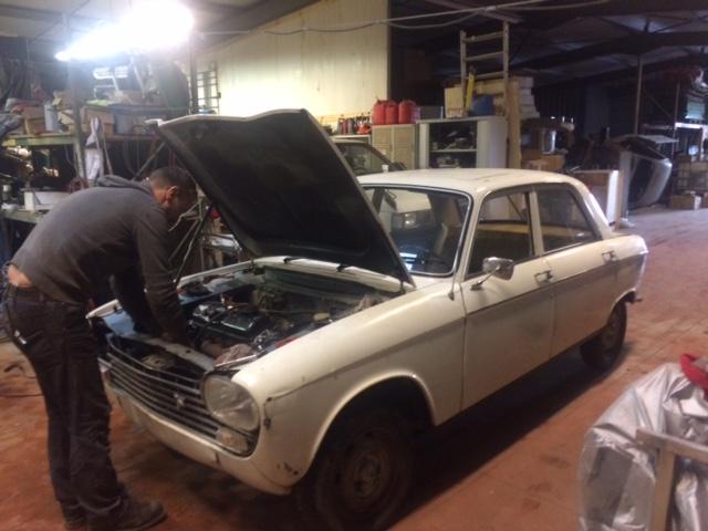 204 berline 1965 mild custom  20onvv