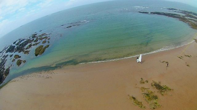 La photo aérienne par cerf-volant ou avec une aile à caissons (KAP : Kite Aerial Photography) 028jnc