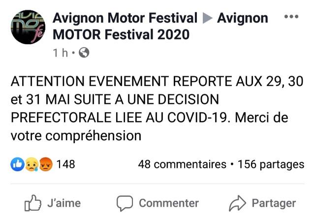 AVIGNON 2020:  ANNULE 025nv6