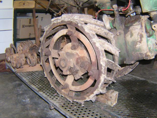 restauration - Restauration d'un Simar C 81 077uk0