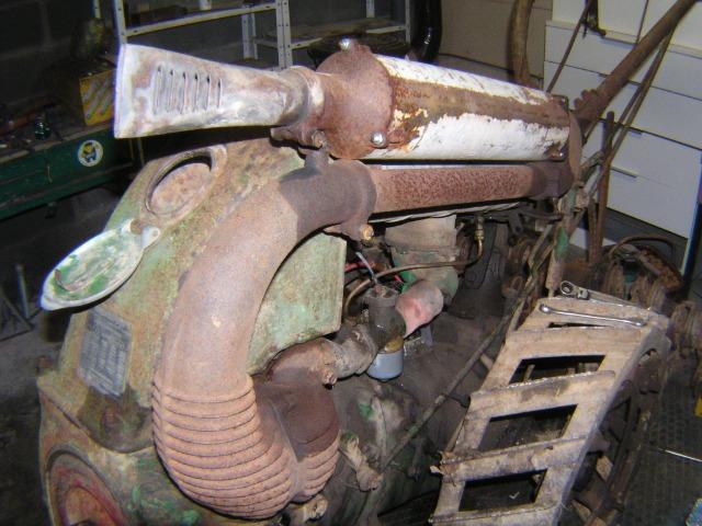 restauration - Restauration d'un Simar C 81 07m01d