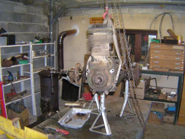 restauration - Restauration d'un Simar C 81 07tbxl