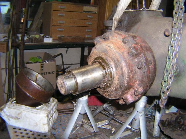 restauration - Restauration d'un Simar C 81 07togb