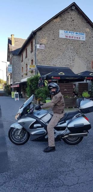 Relais Motard Le Puy Blanc à Margerides (Bort les Orgues - Corrèze) 258kb0