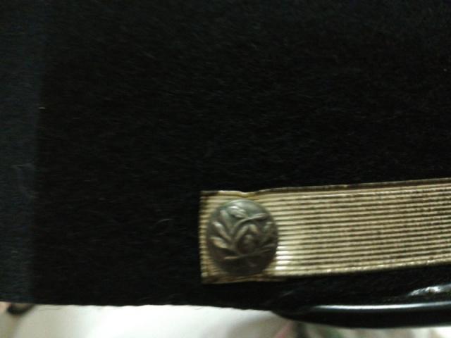 bouton de fausse jugulaire de képi  31423f